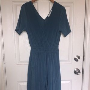 ASTR jumpsuit. Color teal, only wore once, SMALL